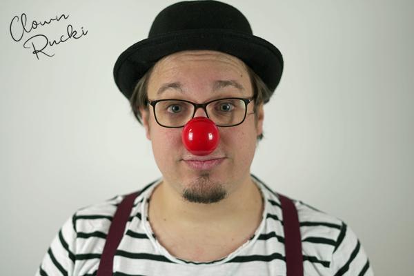 Clown Klinikclown Rucki Porträt 01