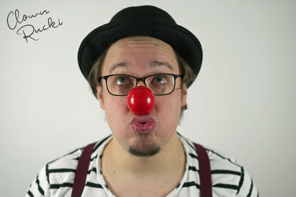 Clown Klinikclown Rucki Porträt 02