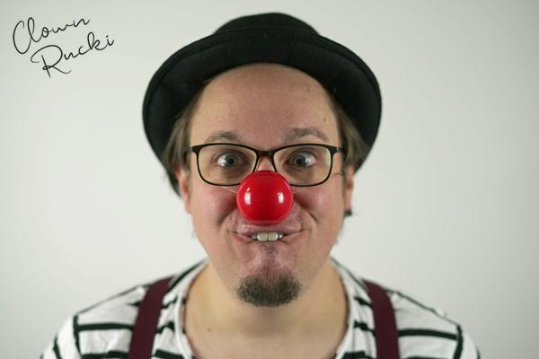 Clown Klinikclown Rucki Porträt 03