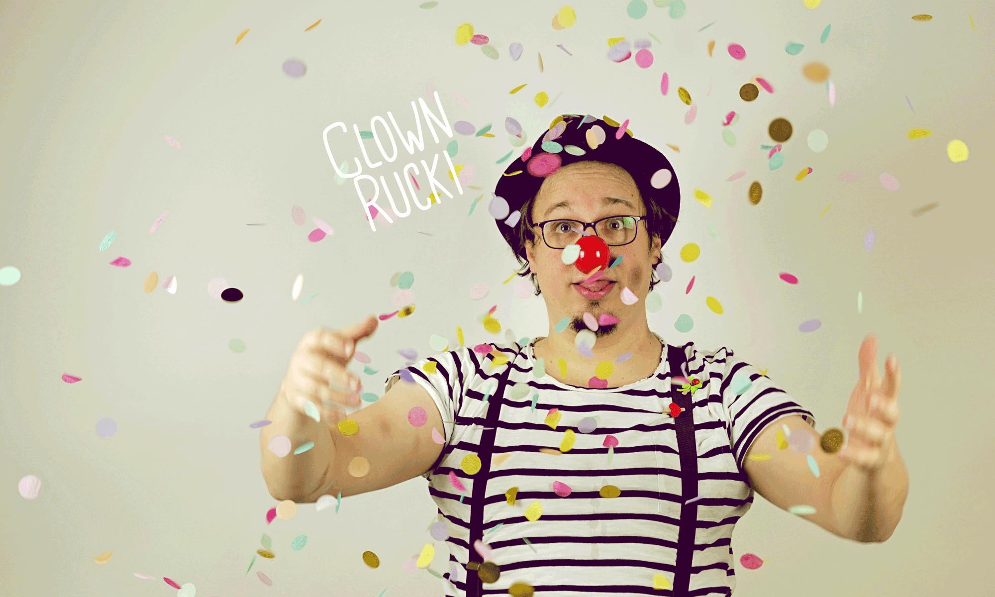 Clown Rucki - Klinikclown in Franken
