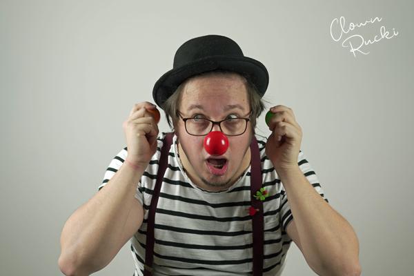 Clown Klinikclown Rucki Überraschung