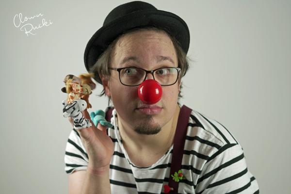 Clown Klinikclown Rucki Handpuppen Tiere