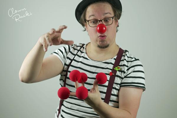 Clown Klinikclown Rucki Rote Nasen